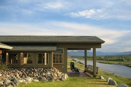Yellowstone River Front with Views - Pray - Hus