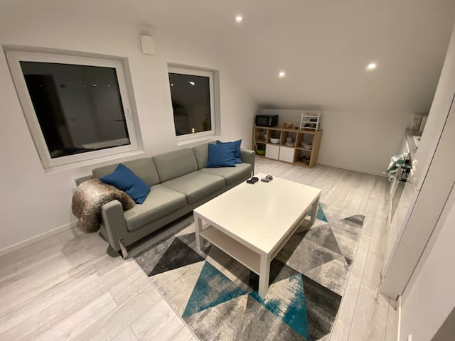 Modern and sentral apartment, Kirkenes