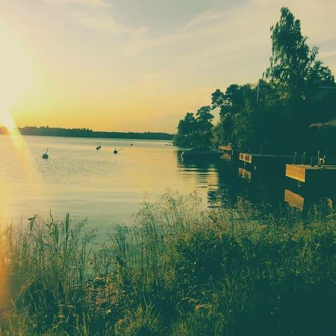 Scenic island haven. - Lidingö - Apartment