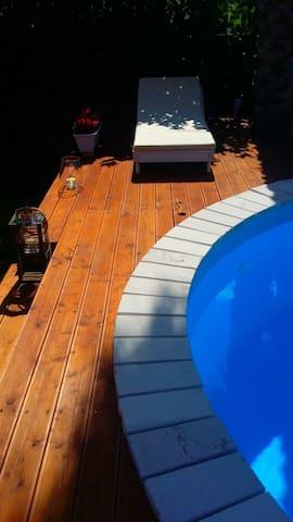 VILLA RITA elegante villa con piscina e solarium - Contrada Guidano - Wohnung