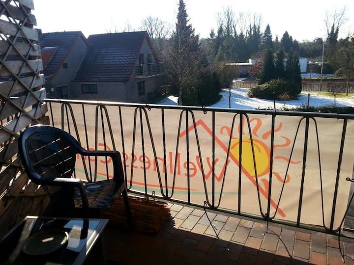 Sonnige 3-Zimmer-Wohnung mit Balkon (Nr3)