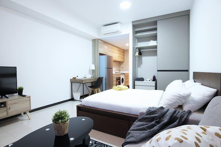 Pleasant&Comfy Studio Apartment in Potong Pasir