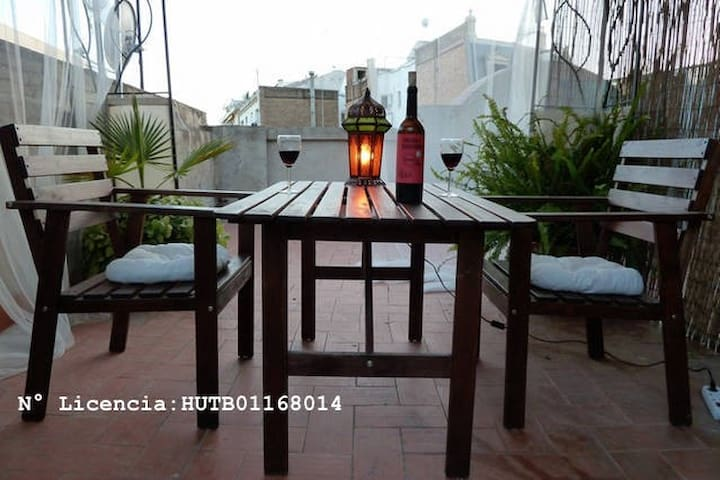 Special prices - penthouse w private roof terrace - Barcelona - Apartment