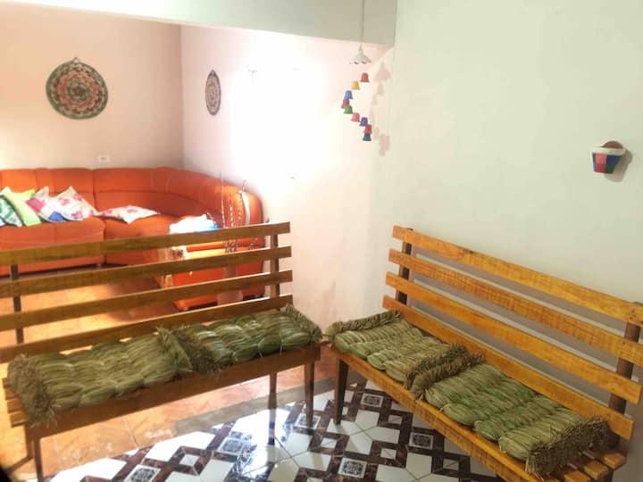 Casa Dona Vilma - Lençóis Maranhenses- Quarto 01