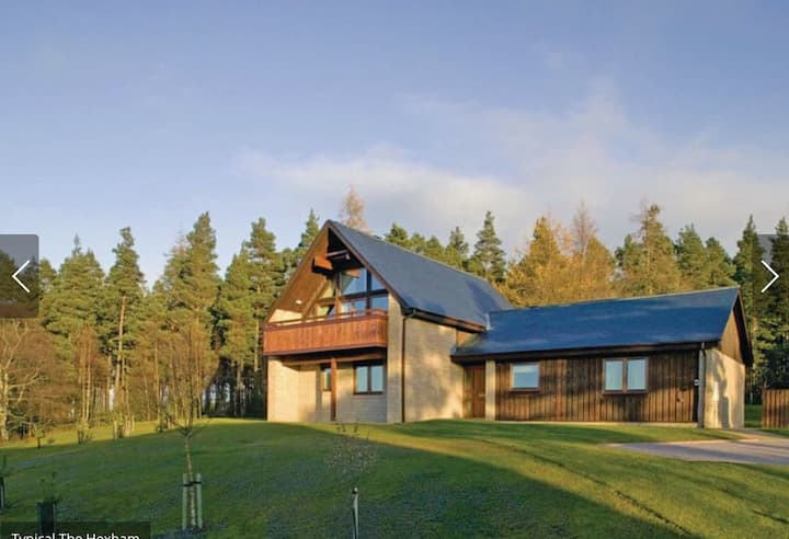 Lovely lodge next to Northumberland National Park