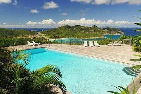 Villa WV CCM - Situated in the Hauts de St. Jean offering excellent view over the ocean - Saint-Barthélemy