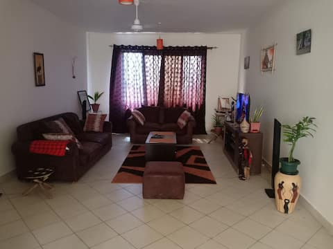Very secure area and walking distance to the beach