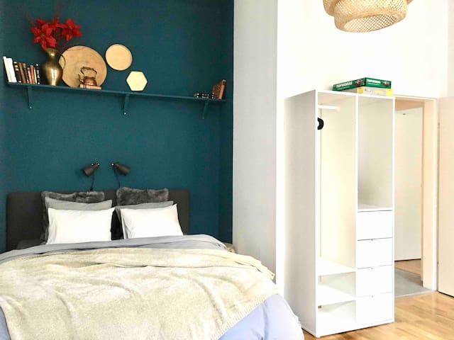 Cozy and peaceful apartment near 'Stadthalle'
