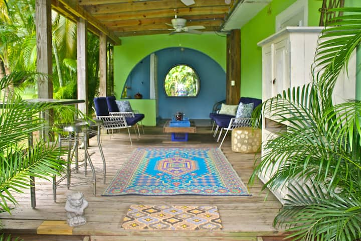 Casa Baraka/Studio/Jungle Setting/Walk2Beach