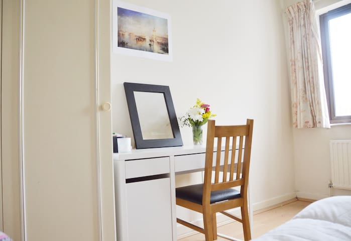Bright room near Sandymount Beach