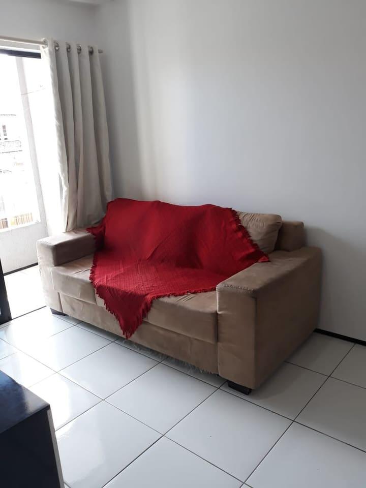 Sofá da sala.