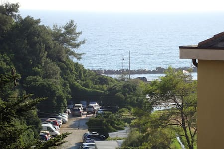 Large apartment 100 meters beach sleeps 6 - Huoneisto