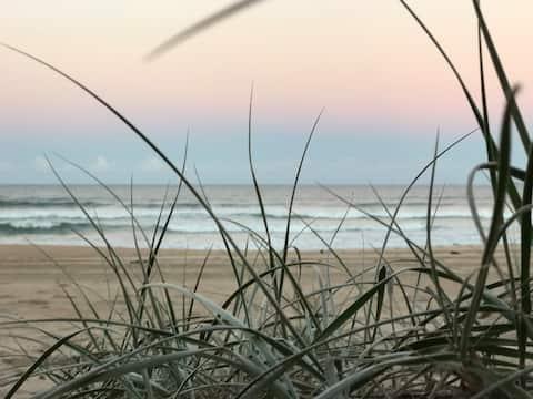 Gull Cottage Wooli - On the Beach