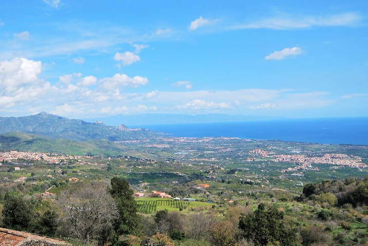 The View, Sicily w/plunge pool nr Taormina & Etna - มาสกาลิ - วิลล่า