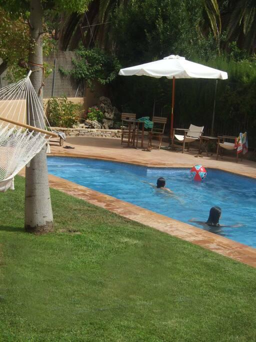 Casa con piscina en parque natural casas en alquiler en for Aki piscinas hinchables