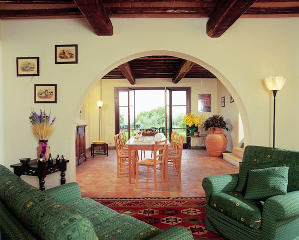 Villa n. 9 in San Gimignano
