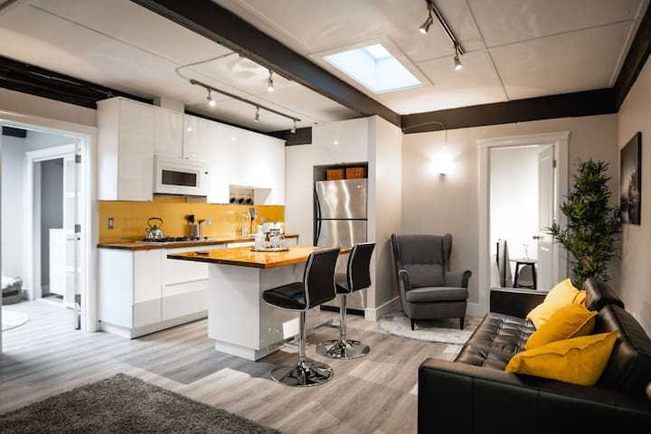 Brand New Unique Suite in Great Location!