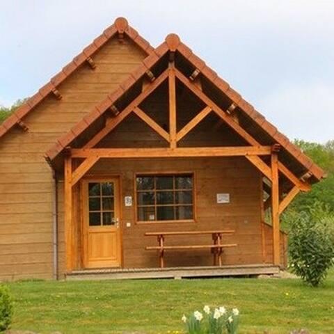 Maison bois 6 personnes - Saint-Fargeau - House