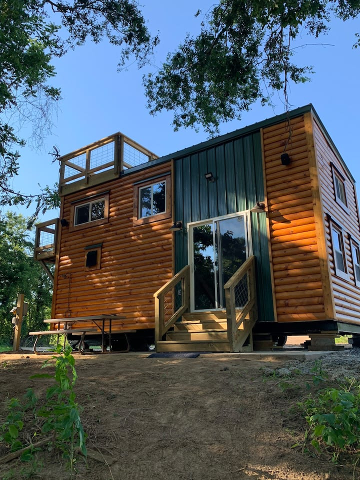 Rocky River Cotton Tiny House