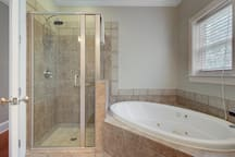Master Bathroom, Upper Level