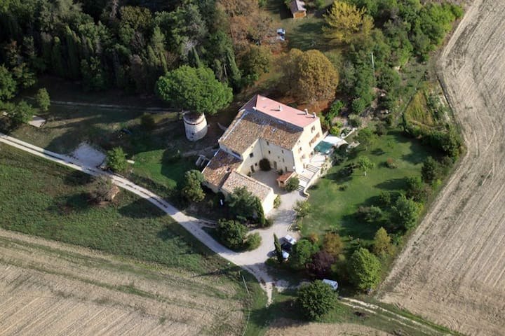 gîte  3 ch. 7 personnes  dans le Luberon - Lurs - Casa