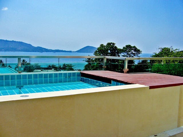 Apartment with private pool,SeaView - Patong - Appartement
