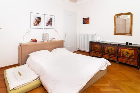 Kid-friendly, sunny home for yogis - Lugano - Apartament