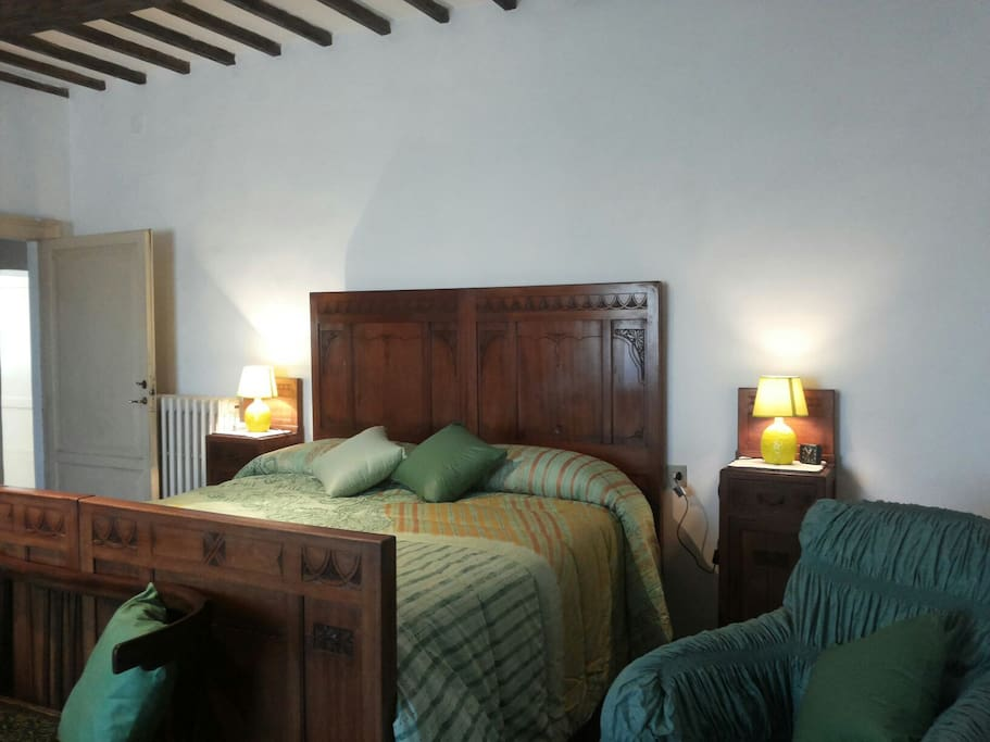 La camera padronale - The main bedroom