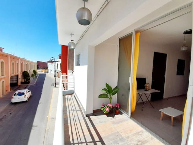 Departamento completo privado con terraza