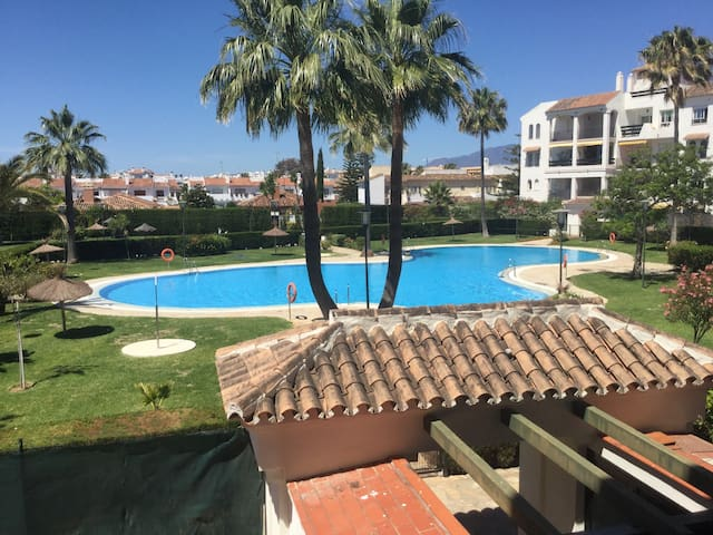 Walk to beach from the apartment! - San Pedro de alcantara