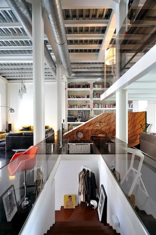 Superb loft-house in Athens heart - Athènes - Loft