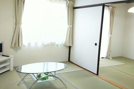 日本三景 in MATUSIMA 松島を楽しもう!  1階の2Kアパート貸切  寝具3組