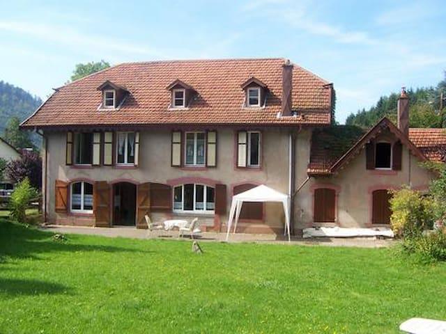 Ferienhaus für Großfamilie,Haustier - Bionville, Vogesen - Hus