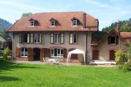 Ferienhaus für Großfamilie,Haustier - Bionville, Vogesen