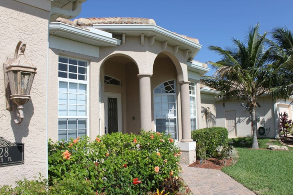 Villa South Beach - Hausansicht Seite