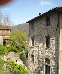 charming flat in an old village - Borgo a Mozzano - Dům