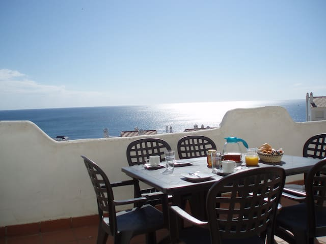 Spacious, stunning sea views - Bahía de Casares - Apartamento
