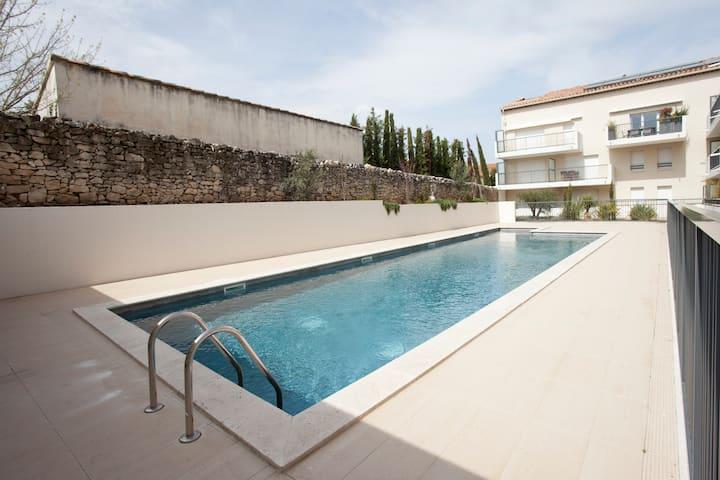 Villa Serena appart piscine central