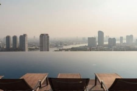 1BrRiverView/High Fl/BTS/WiFi - Bangkok