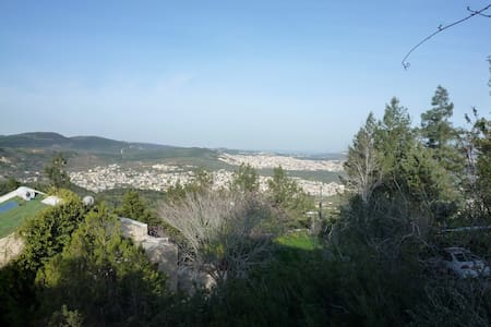 House with the Galilee hills view  - Yahad Israel
