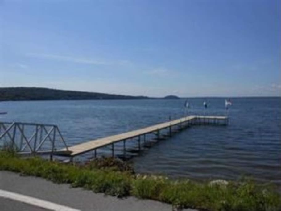 Saratoga springs lake townhouse case in affitto a for Vacation rentals in saratoga springs ny