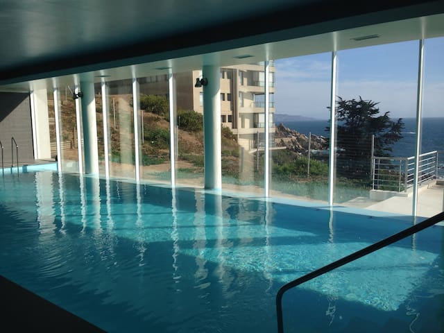 Awesome Ocean View, WiFi, Parking - Concón - Lejlighed