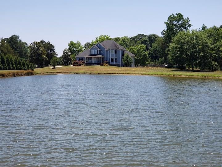 Indigo House - Historic Home Near Lake Oconee
