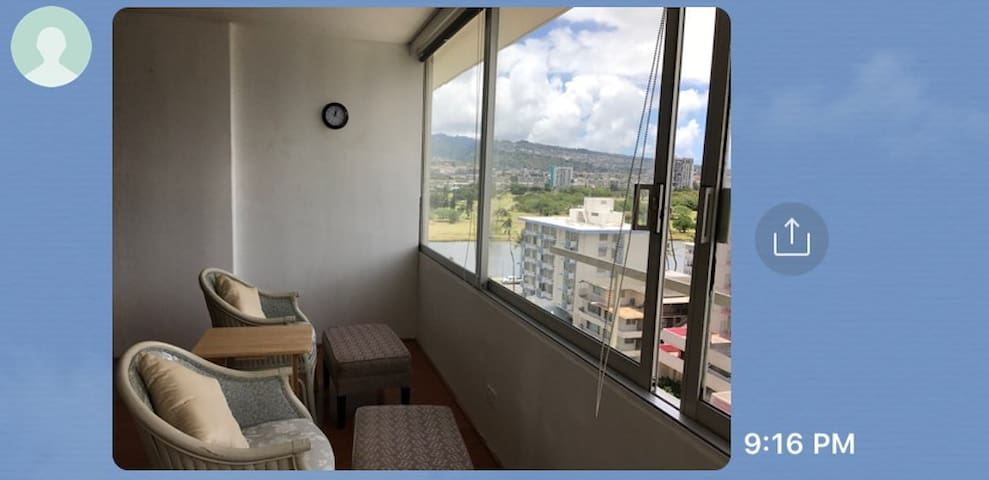 Furnished 2 Bed Rooms Very Convenient Location a/c