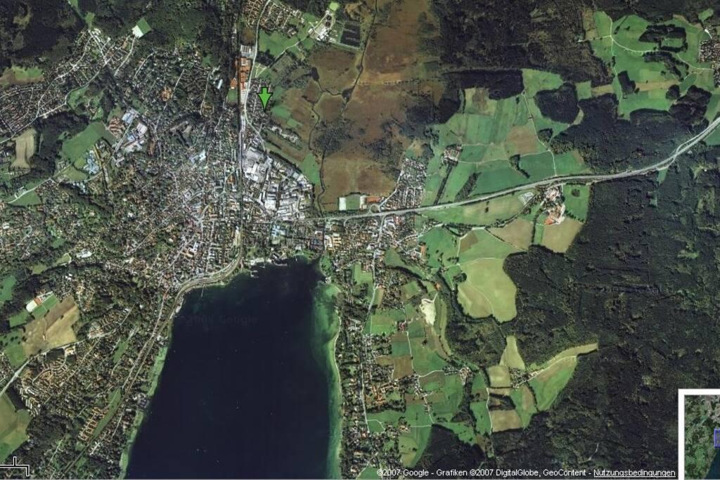 Aerial of Starnberg