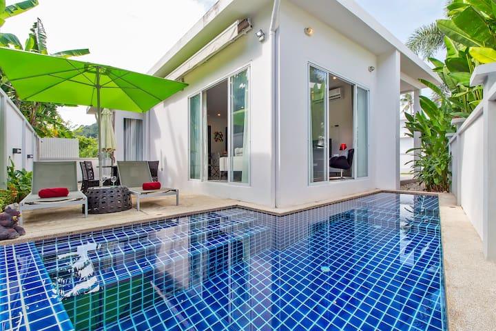 Boutique Pool Villa, ➁ bedrooms, ➂bathrooms, Rawai