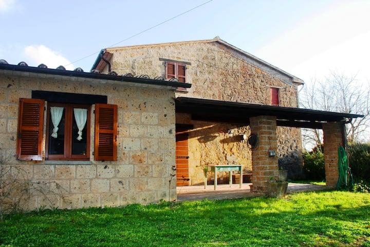 Accogliente casale vicino Orvieto