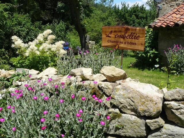 L'Embellie, les charmes de l'Auvergne