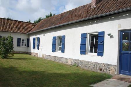 Fermette picarde en Baie de Somme - Vercourt - Casa
