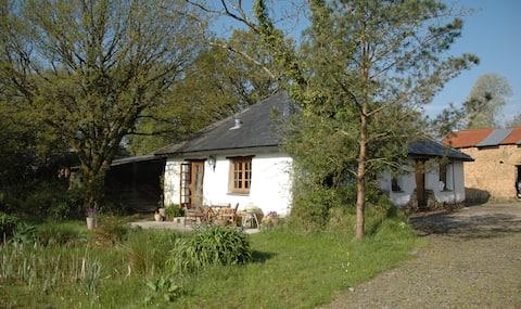 "Great Burrow Cottage. Dartmoor views,""Rustic chic"""
